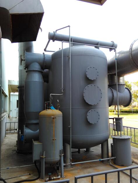 活性炭吸附蒸汽脱附冷凝回收装置